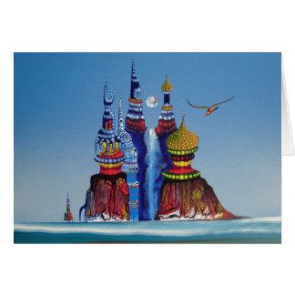 Water Castle - card