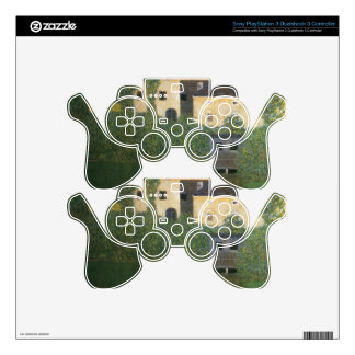 Water Castle cool PS3 Controller Skins