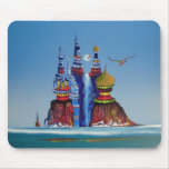 Water Castle - Mouse Pad