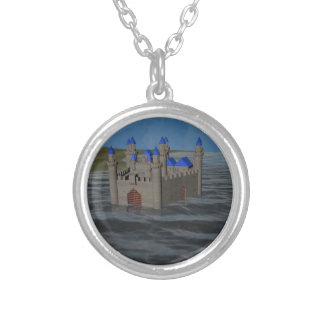 Water Castle Personalized Necklace