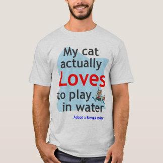 Water cat tee