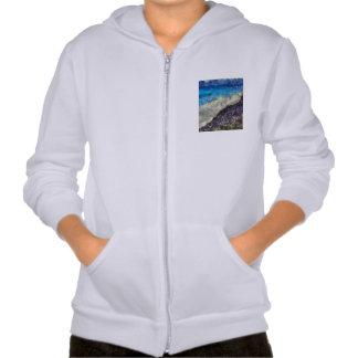 Water chasing beach hoodies