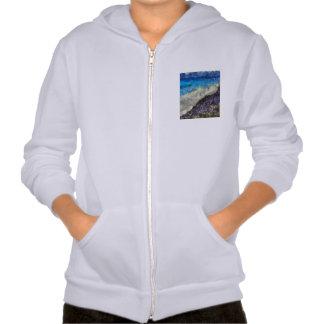 Water chasing beach hoody