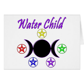 Water Child Cards