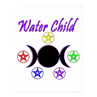 Water Child Post Card