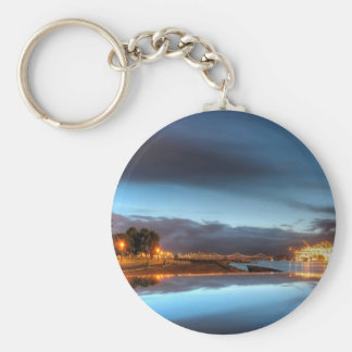 Water City Lights River Keychains