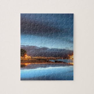 Water City Lights River Puzzles