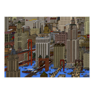 WATER CITY POSTER