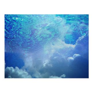 Water & Clouds Postcard