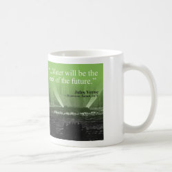 Water...coal of the future - Mug (green)