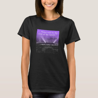 Water...coal of the future - T-shirt (mauve)