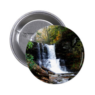 Water Cold River Falls Pin