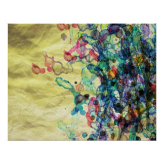 Water Color Background Print
