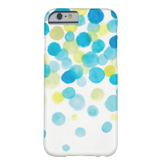 water color, blue green yellow barely there iPhone 6 case