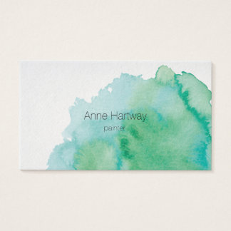 Water Color Business Cards
