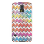 Water Color Chevrons Phone Cases Cases For Galaxy S5
