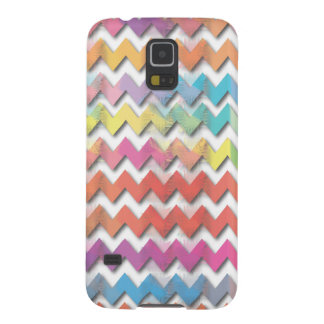 Water Color Chevrons Phone Cases Galaxy S5 Cover