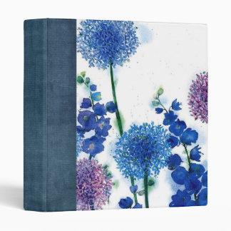 water color garden scrapbook 3 ring binders