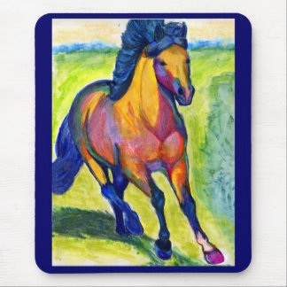 Water Color Horse Mousepad