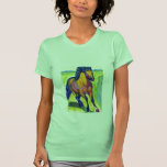 Water Color Horse Shirts
