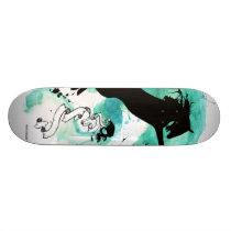 Water Color Horse - Skateboard