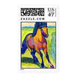 Water Color Horse Stamps