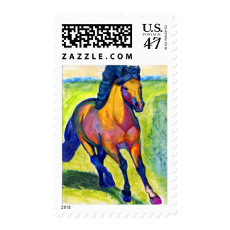 Water Color Horse Stamps #1