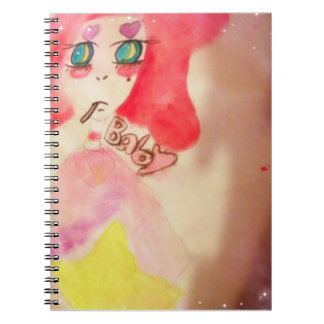 Water color journal spiral note books