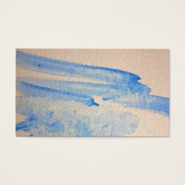 Water Color Natural Texture Style Business Card