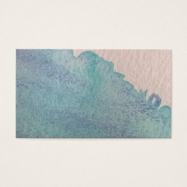 Water Color  Painted Natural Texture Business Card