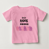 water color pattern quote baby tshirt