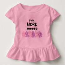 water color pattern quote ruffle Tee