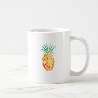 Water- Color Pineapple Coffee Mug