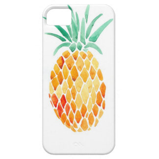 Water- Color Pineapple iPhone SE/5/5s Case