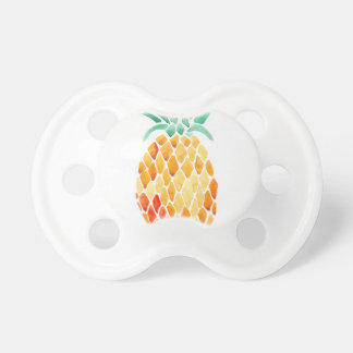Water- Color Pineapple Baby Pacifiers
