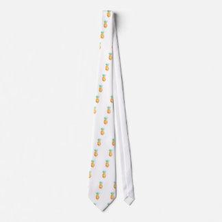 Water- Color Pineapple Tie
