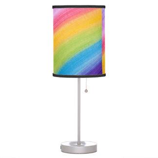 Water Color Rainbow Desk Lamp