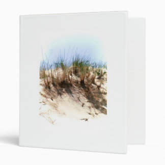 Water Color Sketch Sand Dune Grasses 3 Ring Binders