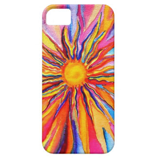 Water Color Sun Iphone Case iPhone 5 Covers