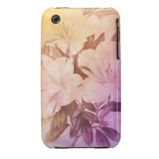 Water Color Vintage Flowers iPhone 3 Case-Mate Case