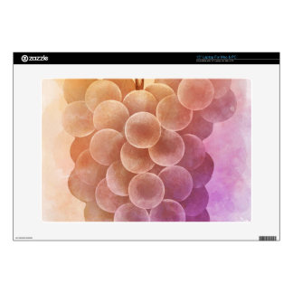 Water Color Vintage Grapes Laptop Decal