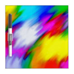 Water Colored Dry-Erase Board