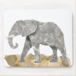 Water Colored Elephant Mousepads