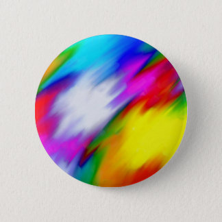 Water Colored Pinback Button