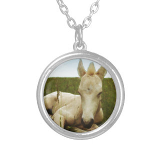 Water Colour Foal Necklaces