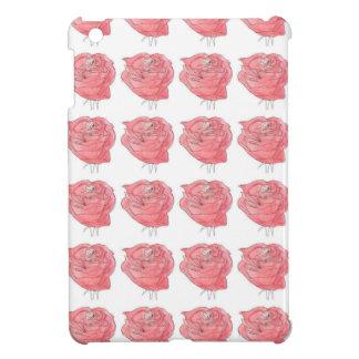 water colour rose iPad mini covers