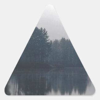 Water Connecticut River Triangle Sticker