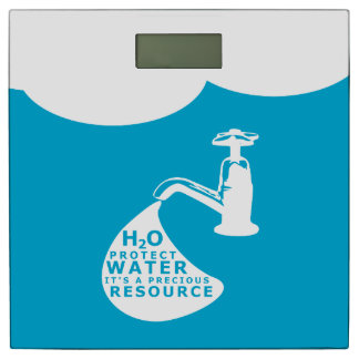 Water Conservation Bathroom Scale