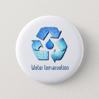 Water Conservation Button