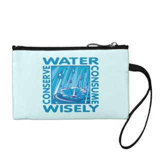 Water Conservation Coin Purse